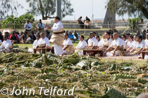 Tongan Cultural Food Ceremony