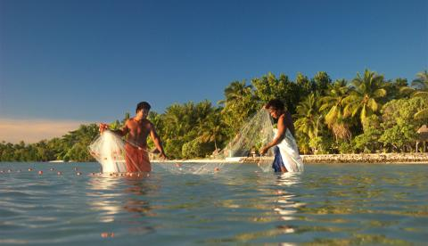 Kiribati rely on fish for nutrition and lack many alternatives